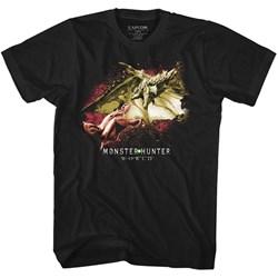 Monster Hunter - Mens Face Off T-Shirt