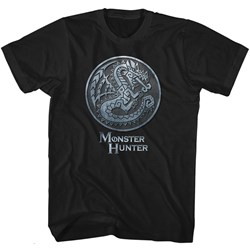 Monster Hunter - Mens Monster Emblem T-Shirt