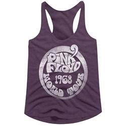 Pink Floyd - Womens 1968 World Tour Racerback Tank Top