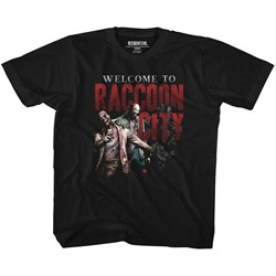 Resident Evil - Unisex-Child Welcome To Rc T-Shirt