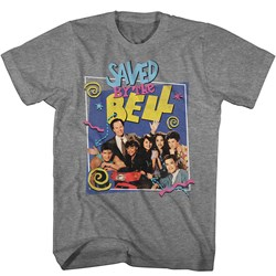 Saved By The Bell - Mens Group W/ Belding T-Shirt