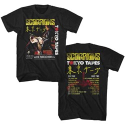 Scorpions - Mens Tokyo Tapes T-Shirt