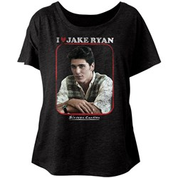 Sixteen Candles - Womens Jake Heart Dolman T-Shirt