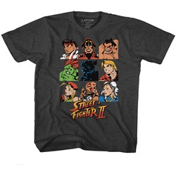 Street Fighter - Unisex-Child Sf2Shdrcast T-Shirt