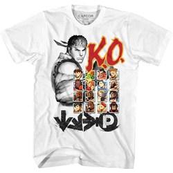 Street Fighter - Mens Ko2 T-Shirt