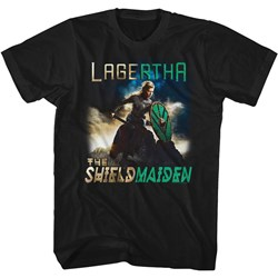 Vikings - Mens Shield Maiden T-Shirt