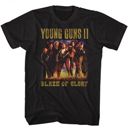 Young Guns - Mens Blaze Of Glory T-Shirt