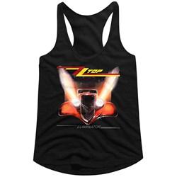 Zz Top - Womens Eliminator Cover Racerback Tank Top