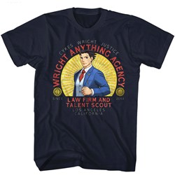 Ace Attorney - Mens Wright Anything T-Shirt