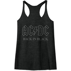 Acdc - Womens Back In Black3 Racerback Tank Top