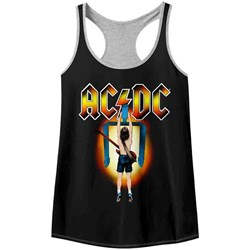 Acdc - Womens Flick Of The Switch Racerback Tank Top
