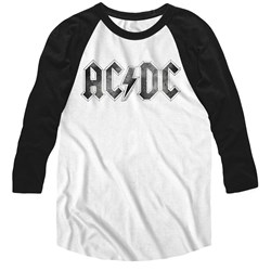 Acdc - Mens Logodistress Raglan