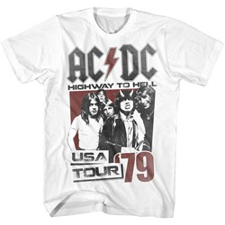 Acdc - Mens Helltour79 T-Shirt