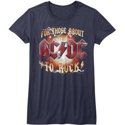 Acdc - Womens Rwb T-Shirt