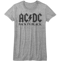 Acdc - Womens Bib In Black T-Shirt