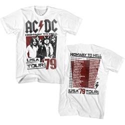 Acdc - Mens Hth Tour 79 T-Shirt