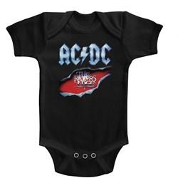 Acdc - Unisex-Baby Razors Edge Onesie