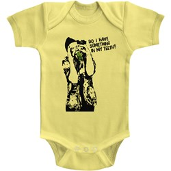 Ace Ventura - Unisex-Baby Something To Eat Onesie