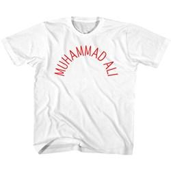 Muhammad Ali - Unisex-Child Arch Text T-Shirt