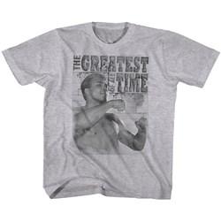 Muhammad Ali - Unisex-Child Training Stance T-Shirt