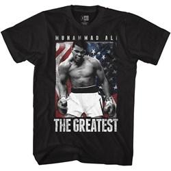 Muhammad Ali - Mens Americali T-Shirt