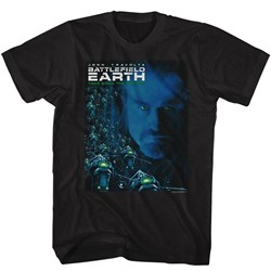 Battlefield Earth - Mens Be Movie Poster T-Shirt