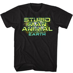 Battlefield Earth - Mens Man Animal T-Shirt