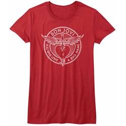 Bon Jovi - Womens Bad Name T-Shirt
