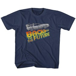 Back To The Future - Unisex-Child 8Bit To The Future T-Shirt