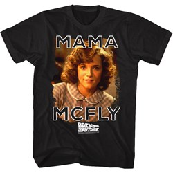 Back To The Future - Mens Mama Mcfly T-Shirt