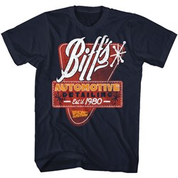 Back To The Future - Mens Biffs Detail T-Shirt