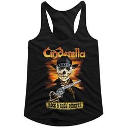 Cinderella - Womens Skelerella Racerback Tank Top