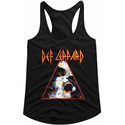 Def Leppard - Womens Nobghyst Racerback Tank Top