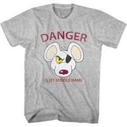 Danger Mouse - Unisex-Child Street Danger T-Shirt