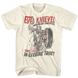 Evel Knievel - Mens Jumpdevil T-Shirt