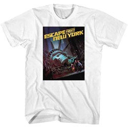 Escape From New York - Mens Run Poster T-Shirt