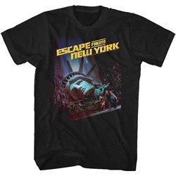 Escape From New York - Mens Run Poster 2 T-Shirt