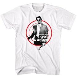 Get Carter - Mens Poster Target T-Shirt