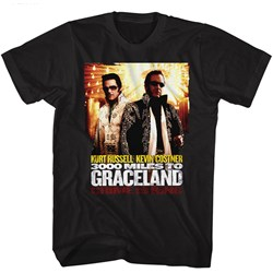 3000 Miles To Graceland - Mens Poster T-Shirt