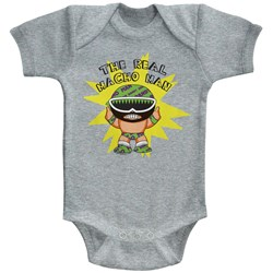 Macho Man - Unisex-Baby To Be Real Onesie