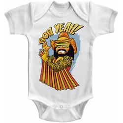 Macho Man - Unisex-Baby Baby Oh Onesie