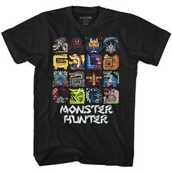 Monster Hunter - Mens Symbols T-Shirt