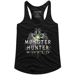 Monster Hunter - Womens Mhw Logo Racerback Tank Top