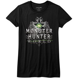 Monster Hunter - Womens Mhw Logo T-Shirt