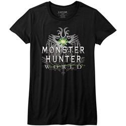 Monster Hunter - Womens Mhw Logo T-Shirt