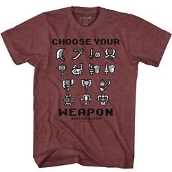 Monster Hunter - Mens Choose Your Weapon T-Shirt