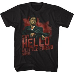 Scarface - Mens Say Hello T-Shirt