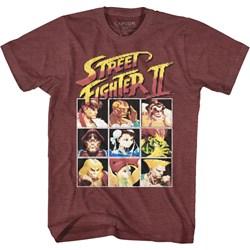 Street Fighter - Mens 8Bit T-Shirt