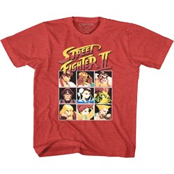 Street Fighter - Unisex-Child 8Bit T-Shirt