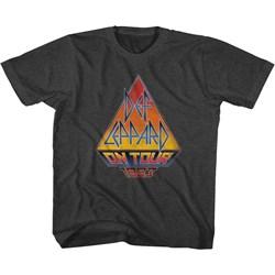 Def Leppard - Unisex-Child On Tour 83 T-Shirt
